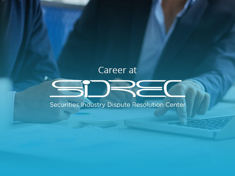 Find Your Career at SIDREC | SIDREC