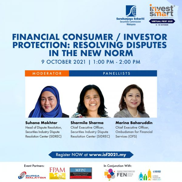 Financial Consumer Investor Protection Resolving Disputes in the New Norm